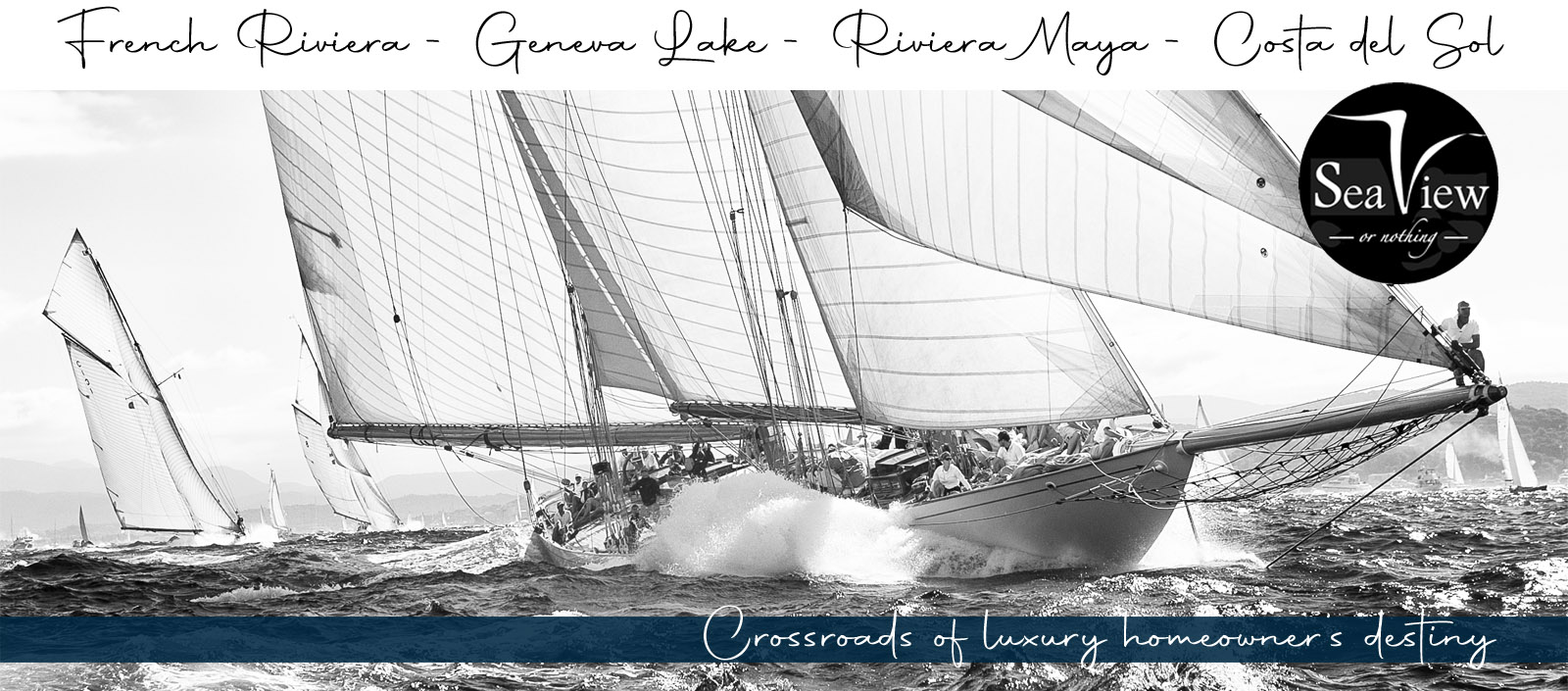 Sea View Or Nothing - Full page banner